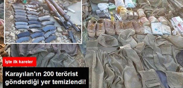TSK, Kale Tepe'yi Teröristlerden Temizledi