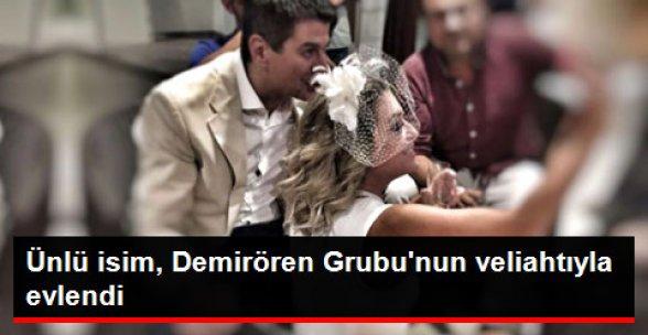 Tuğçe Tatari, Demirören Grubu'nun Veliahtı ile Evlendi