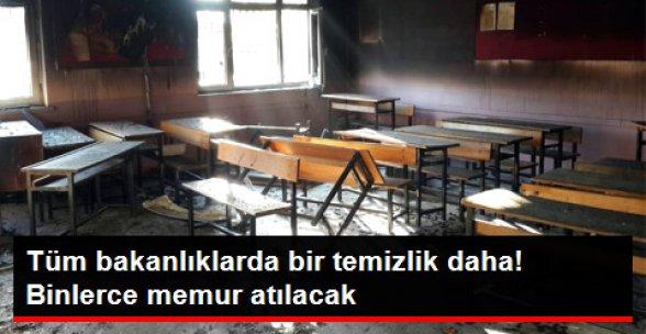 Tüm Bakanlıklarda PKK Temizliği! Binlerce Memur Atılacak