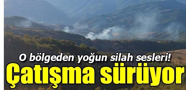 Tunceli Hozat'ta operasyon çatışma sürüyor!