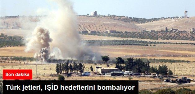 Türk Jetleri, Sınırdaki IŞİD Hedeflerini Vuruyor