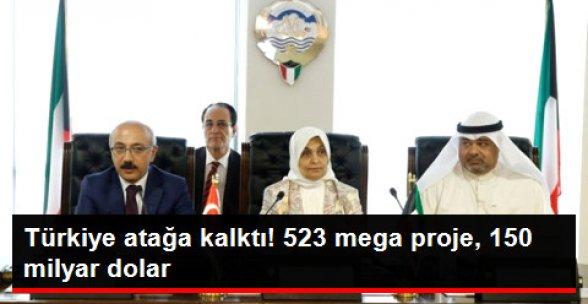 Türk Şirketler 150 Milyar Dolarlık İşe Talip!