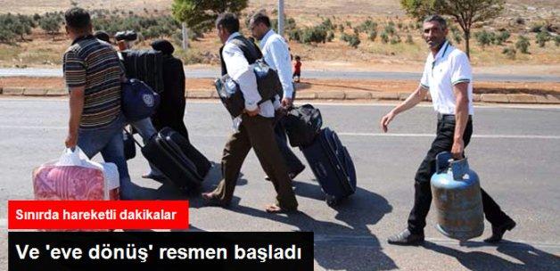 Türkiye'deki Suriyeliler, Cerablus'a Dönmeye Başladı