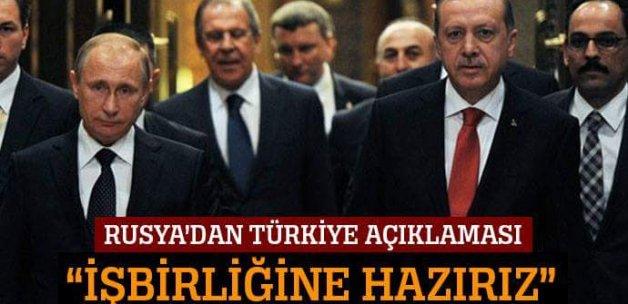 'Türkiye ile iş birliği yapmaya hazırız'