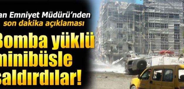 Van'da bombalı araçla hain saldırı!8