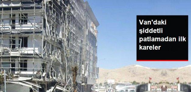 Van'daki Patlamadan İlk Kareler