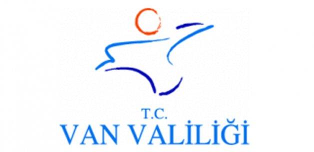 Van Valiliği'nden operasyon açıklaması