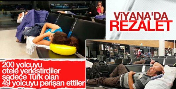 Viyana Havalimanı'nda Türk yolculara eziyet ettiler