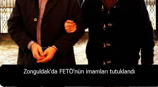 Zonguldak'da FETÖ'nün imamları tutuklandı