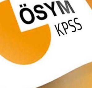 2016 KPSS sınav giriş yerleri belli oldu