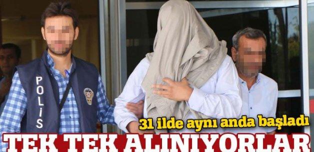 31 ilde büyük operasyon: 153 kişi hakkında gözaltı kararı verildi