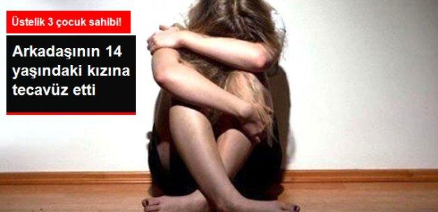 3 Çocuk Sahibi Olan Hamdi K. Arkadaşının 14 Yaşındaki Kızına Tecavüz Suçlamasıyla Tutuklandı