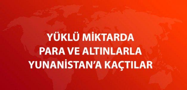 5 Türk Vatandaşı Para ve Altınlarla Yunanistan'a Kaçtı