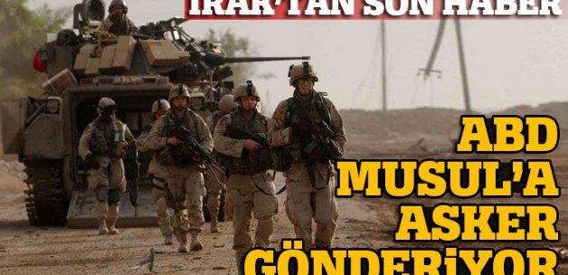 ABD'den Irak'a 500 asker daha gidecek
