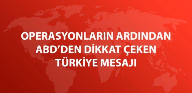 ABD'den Musul Operasyonu ve Dabık Mesajı: Türkiye'ye Teşekkür Ederiz