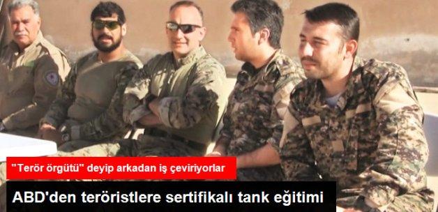 ABD'den Teröristlere Sertifikalı Tank Eğitimi