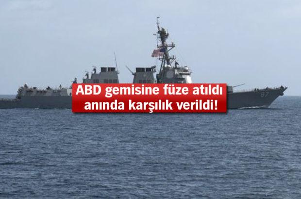 ABD, gemisine saldıran radar mevzilerini vurdu