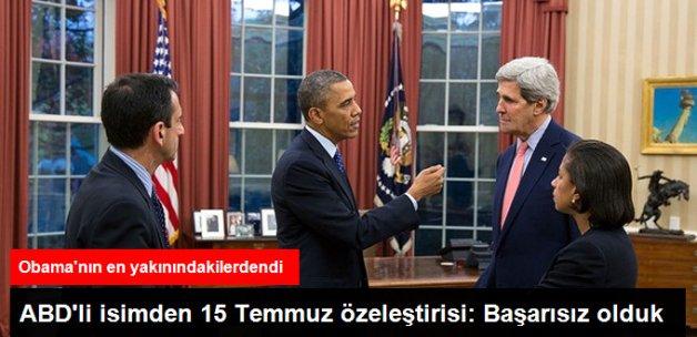ABD'li İsimden 15 Temmuz İtirafı: Türklerin Hislerini Anlamakta Başarısız Olduk