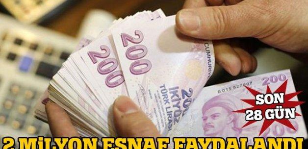 Ağbal: 2 milyona yakın esnaf borç yapılandırdı