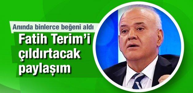 Ahmet Çakar'dan olay Fatih Terim paylaşımı