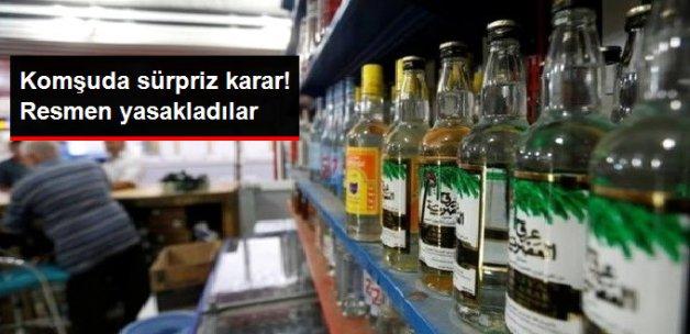 Alkol Yasaklandı