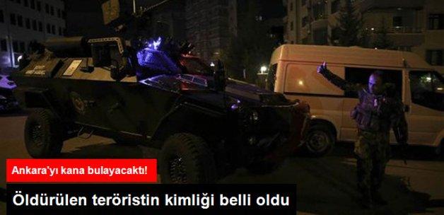 Ankara'yı Kana Bulayacaktı! Öldürülen IŞİD'li Teröristin Kimliği Belli Oldu