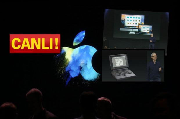 Apple Macbook Pro ve Macbook Air'i tanıtıyor