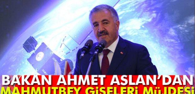 Bakan Ahmet Arslan: Mahmutbey gişelerindeki çalışmalar 45 gün içerisinde bitirilecek