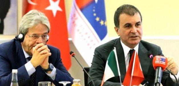 Bakan Çelik: Avrupa Konseyi'ne teklif sunduk, vizeler kalkabilir