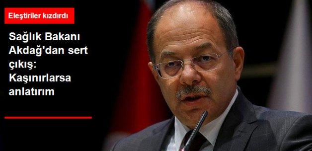 Bakan Recep Akdağ'dan Çok Sert GATA Eleştirileri: Kaşınırlarsa Anlatırım!