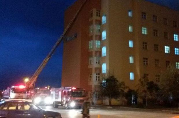 Bandırma Devlet Hastanesi'nde yangın!