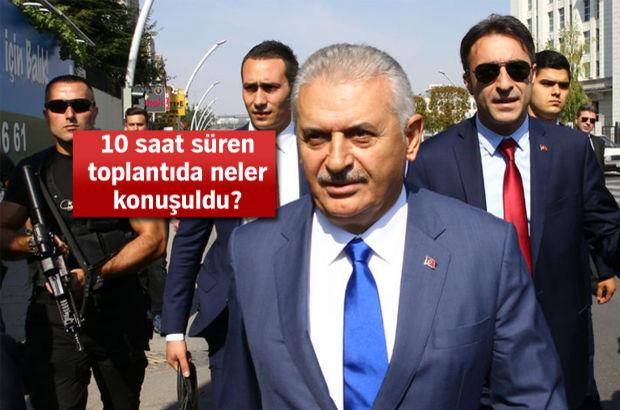 Başbakan Binali Yıldırım, AK Partili milletvekilleri ile görüştü