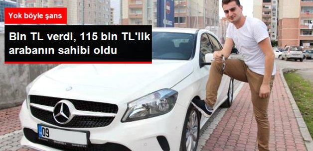 Bin Liraya Beyaz Eşya Aldı, 115 Bin Liralık Otomobil Kazandı