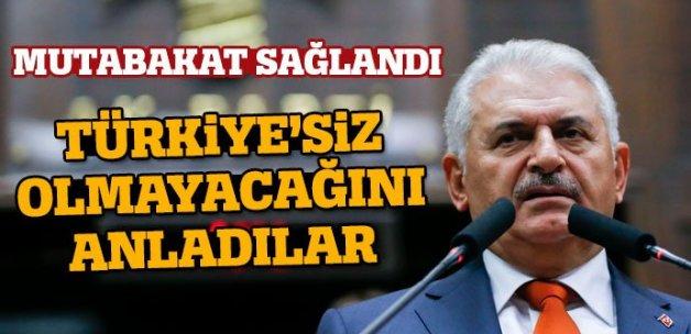 Binali Yıldırım: Musul operasyonunda Türkiye de var