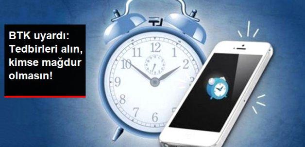 BTK Yaz Saati İle İlgili Uyardı: Gerekli Tedbirleri Alın
