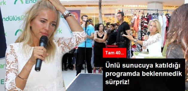 Burcu Esmersoy'a Bursa'da Sürpriz Doğum Günü Kutlaması Yaptılar