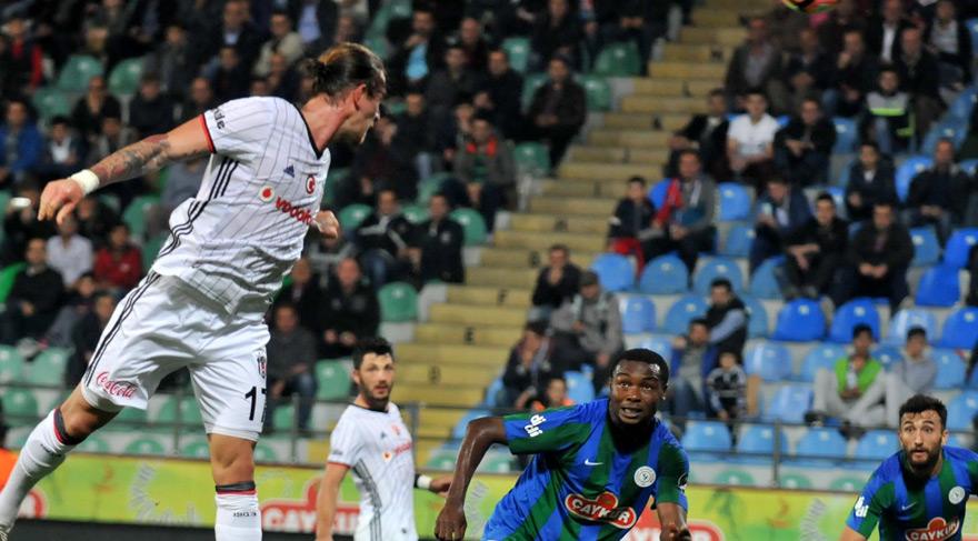 Çaykur Rizespor Beşiktaş maçı özet izle! Beşiktaş son dakika golü ile kazandı!