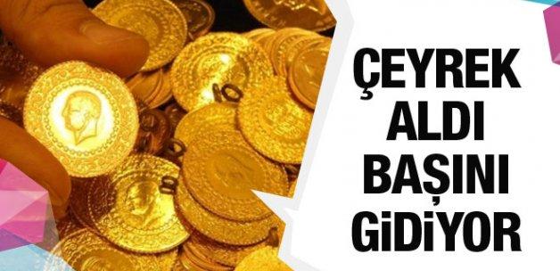 Çeyrek altın fiyatı uçtu Kapalıçarşı altın fiyatların dolar şoku