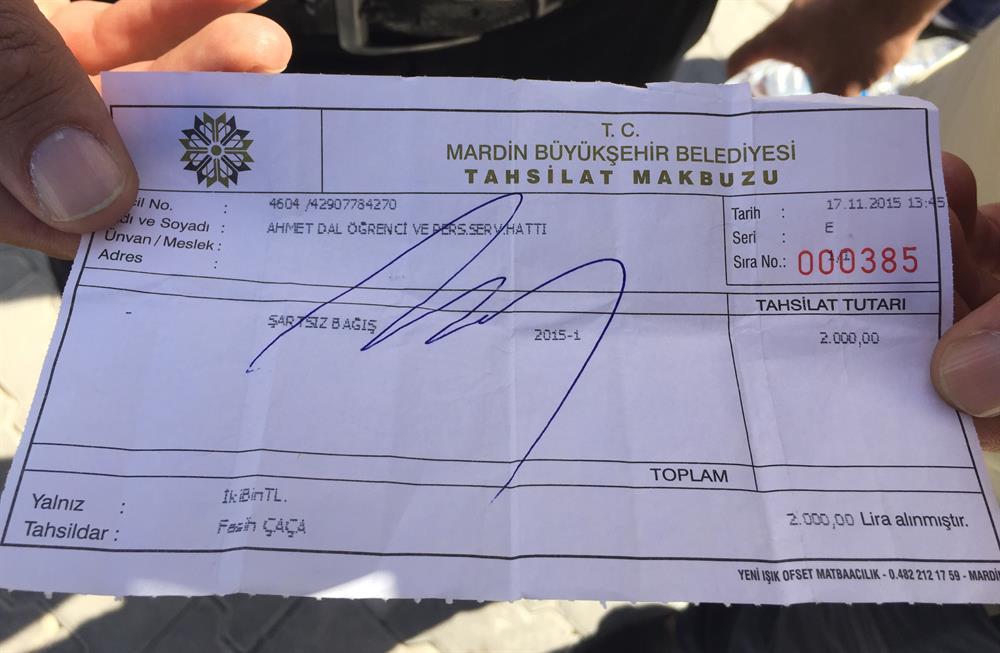 DBP'li belediyeden servisçilere zorla 'bağış'