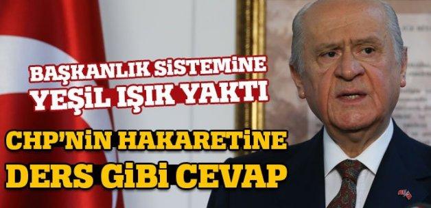 Devlet Bahçeli'den başkanlık sistemi açıklaması