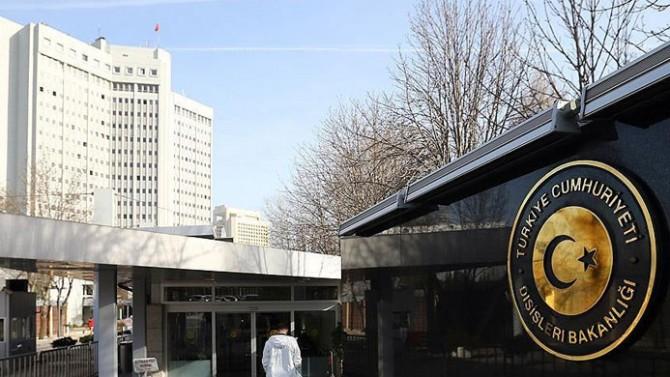 Dışişleri Bakanlığı Bağdat saldırısını kınadı