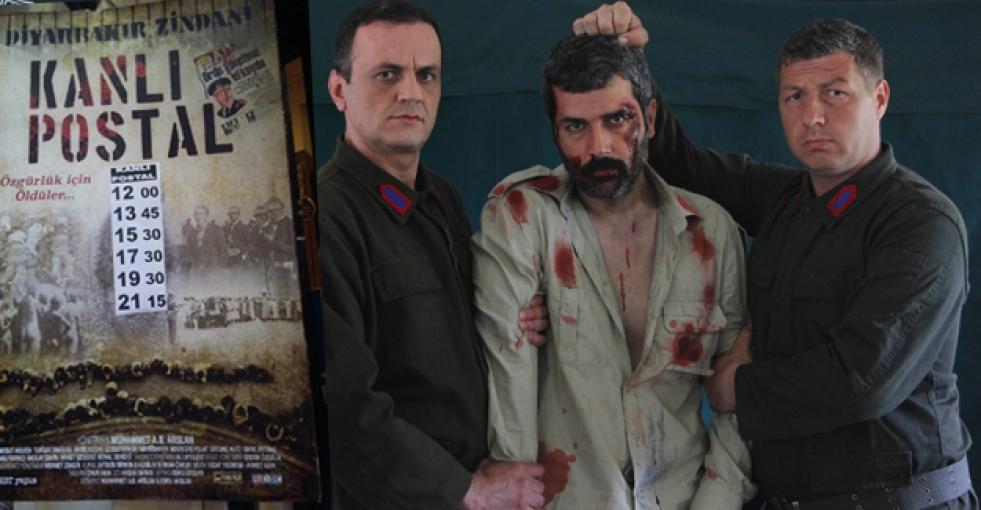 Diyarbakır Cezaevini anlatan 'Kanlı Postal' filmi Diyarbakır'da salon bulamadı