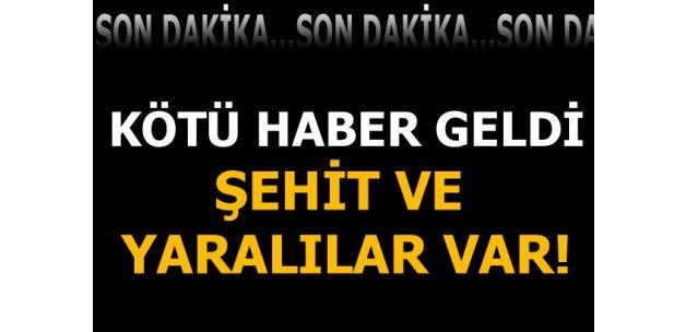 Diyarbakır'da saldırı! Şehitler var
