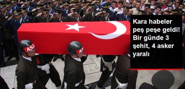Diyarbakır ve Şanlıurfa'daki Hain Saldırılarda 3 Asker Şehit Oldu