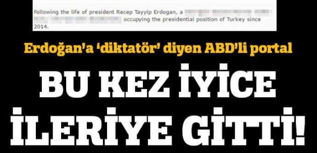 Erdoğan'a diktatör diyen İMDB'den bir skandal daha