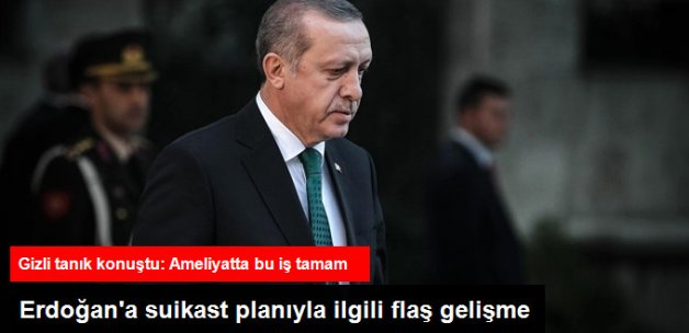 Erdoğan'a Suikast Planını 1 Hafta Önceden Biliyordu