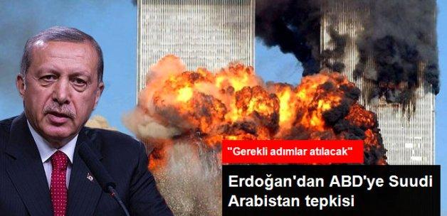 Erdoğan'dan ABD'deki '11 Eylül Yasası'na Tepki
