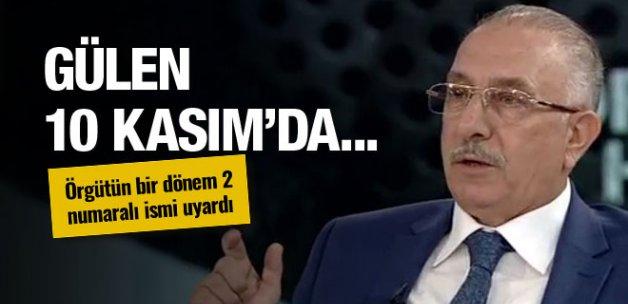 Fethullah Gülen 10 Kasım'da... Nurettin Veren uyardı