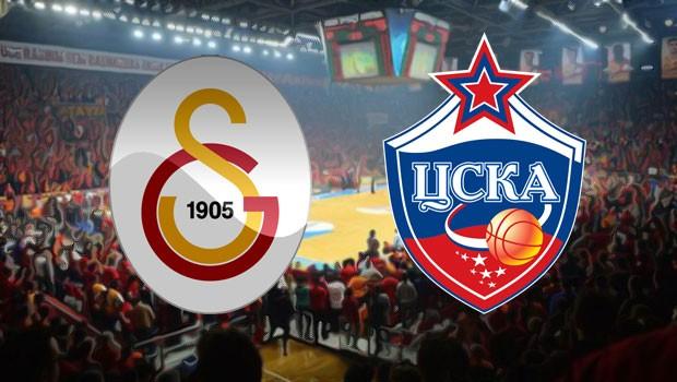 Galatasaray Odeabank 84-109 CSKA Moskova / MAÇIN ÖZETİ