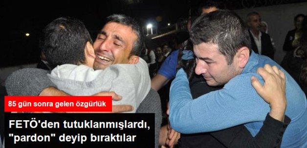 Gaziantep'te FETÖ'den Tutuklanan 15 Asker Tahliye Edildi